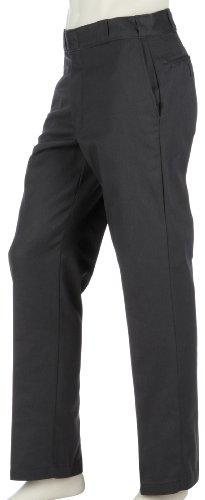 Dickies Herren Sporthose Work Pants 874 Original grau (charcoal grey / anthrazitgrau) 40/34 (Pants Front Baumwolle Work Flat)
