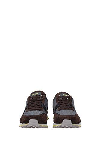 XXM0XG0N630CL975WD Tod's Sneakers Uomo Tessuto Grigio Grigio