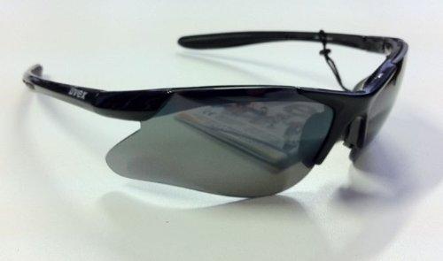 UVEX 4Box II Radbrille mit Wechselscheiben Sportbrille Fahrradbrille