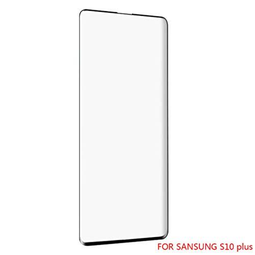 Meisijia Ersatz für Samsung S10 / S10 Plus / S10E Telefon-Schirm-Schutz Einscheibensicherheitsglas Membrane Full Screen-Abdeckung Aufkleber Film (Schirm Für Telefon)