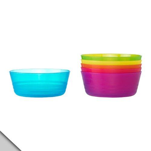 Ikea - Kalas enfants bols de couleur (2 sets de 6) --Total 12 bols