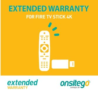 Onsitego 2 Year Extended Warranty for Fire TV Stick 4K (Email Delivery)