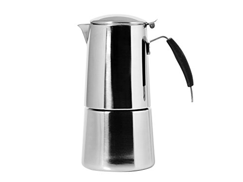 Ilsa Caffettiera Espresso Acciaio Inox 4 Tazze