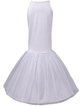 Beauty-Emily Petticoat elasticizzato Tutu gonna nuziale