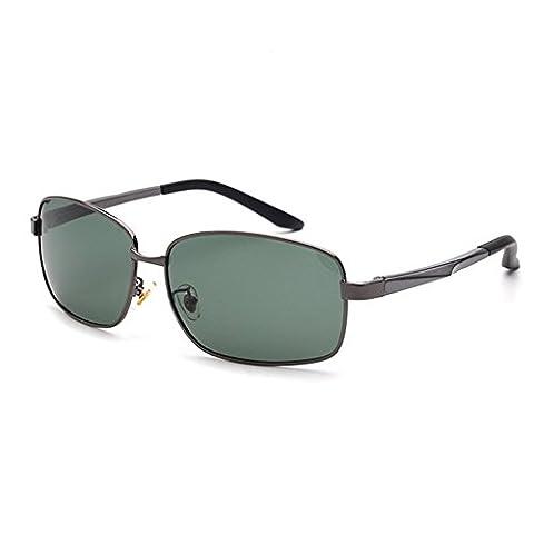 O-C Men's fashion stylish outdoor driving fishing aviator mirrored sunglasses TAC UV 400 polarized (Alpine Man-kostüm)