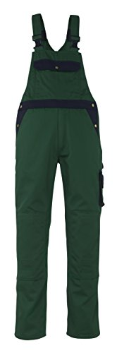 Mascot Milano Bib und Brace Latzhose 90C50, grün / marine, 00969-430-31