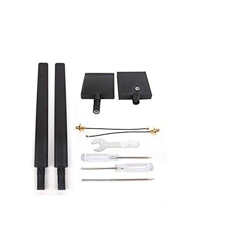 Taoke 1 Paar 2.4G 7DB Richtantenne Range Extender & 1 Paar 2.4G 8DB Omni-Direktionaler Signal Range Booster Kit f¨¹r DJI Mavic DJI Maivc Air DJI Spark
