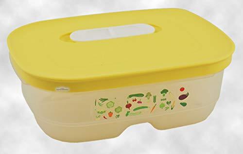Tupperware® Klima-Oase 800 ml Frische-Behälter Prima-Klima Kühlschrank-Box A180 gelb - Tupperware Frisch Kühlschrank
