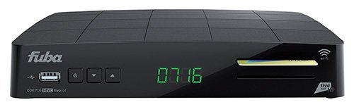 Fuba ODE 716HD Wifi Tivu Full HD HEVC Sat Receiver + Tivusat Karte