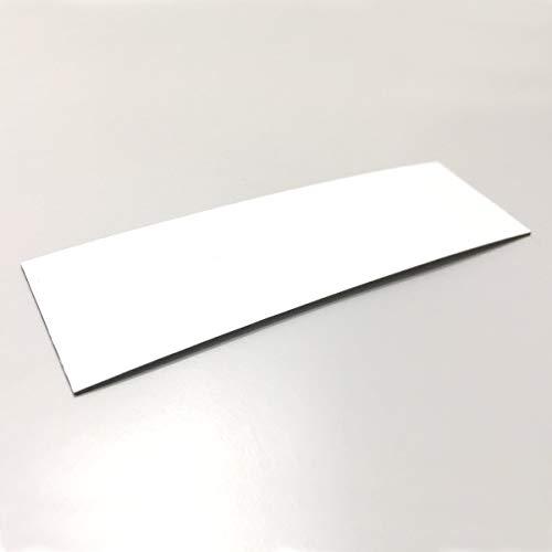 easydruck24de 100 beschreibbare Magnet-Etiketten MAGSTICK® mag_815 I 10 x 3 cm I weiß I magnetische Beschriftungsfolie beschreibbar Magnet-Streifen zum Beschriften