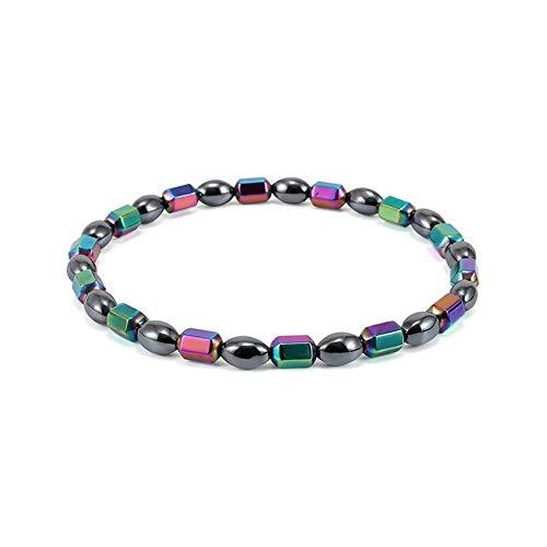 Silverdee Magnetfeldtherapie Fußkettchen Perlen Fußkette gesunde Gewichtsabnahme Knöchel Armband
