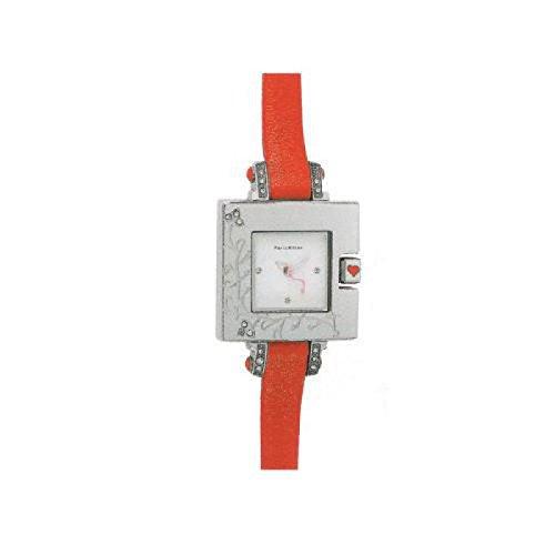 paris-hilton-women-clock-quartz-138431199-rechargeable-quandrante-steel-white-leather-strap