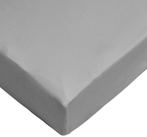 Daydream-Sábana Bajera lits-jumeaux 160/180x 200cm Gris en Jersey 100% algodón, 91261u