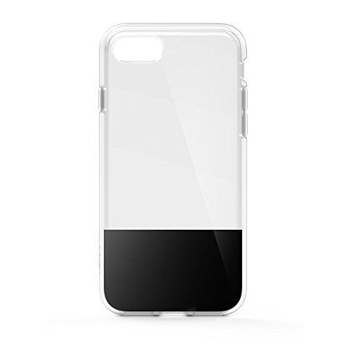 Belkin SheerForce Schutzhülle (TPU, Sturzsicherheit, Anschlüsse frei zugänglich, geeignet für iPhone 8/7)schwarz