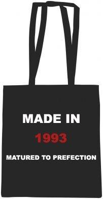 'Made in 1991' nero cotone Drill grembiule,