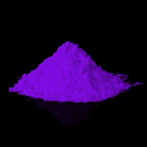 Seltene Glühpulver - Leuchtpigmente, Selbstleuchtende Farbpigmente, Nachleuchtpulver, Nachtleuchtpulver, UV Farbpulver, Glühfarbe, Nachleuchtpigment, Nachleucht-Pigment, Leuchtfarbe, Schwarzlicht-Pulver (40g, - Wand Farbe Leuchtende