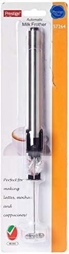 Prestige Automatic Milk Frother, Silver, PR57264, 1