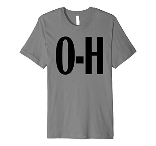 o-h Paare Passende Ohio Sport Fußball funny Fun T-Shirt