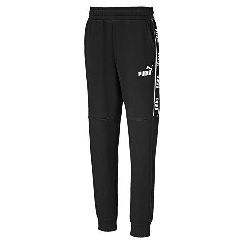 PUMA Jungen Amplified FL cl B Jogging Sweat Pants, Black, 152