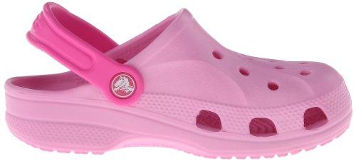 Crocs Baya 10190 Unisex-Kinder Clogs Pink (Carnation/Neon Magenta)