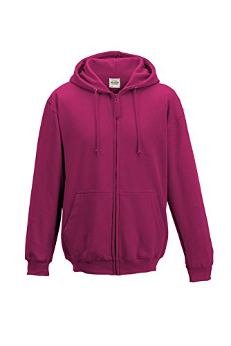 Just Hoods - Sweat-shirt -  Homme Rose - Rose fluo