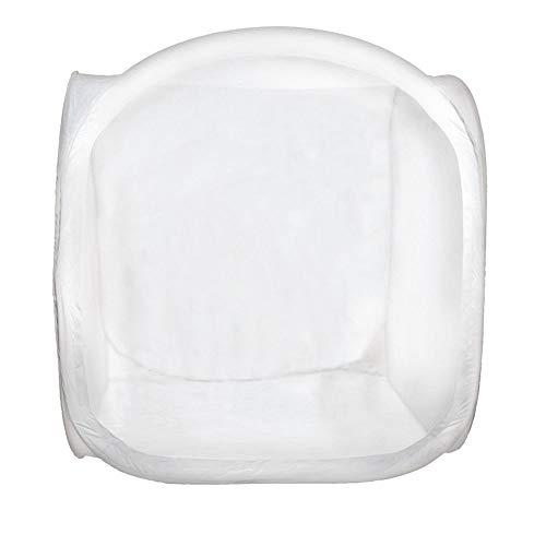 DÖRR Lichtzelt/Aufnahmebox weiß 150x150 cm inkl. 4 Hintergründe in weiß, schwarz, rot und blau, Klettabdeckung mit Objektivöffnung und Transportbeutel