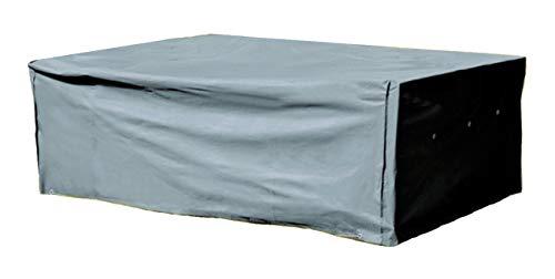 Kronenburg Schutzhülle für Tisch Stühle Sitzgruppen Sitzgarnituren 200 x 160 - Oxford Gewebe 420 D