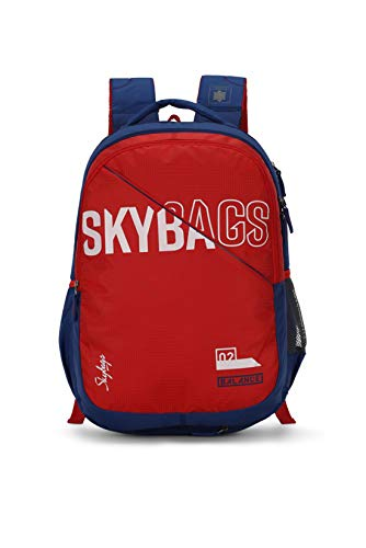 Skybags Figo Extra 03 36 Ltrs Red Casual Backpack (FIGO...