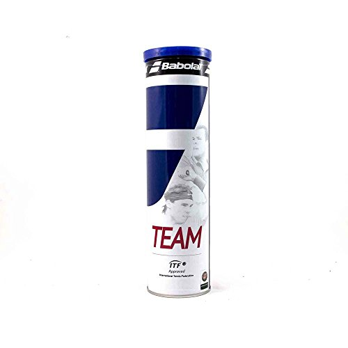 Babolat Tennisbälle Team 4er Dose, gelb, 502011