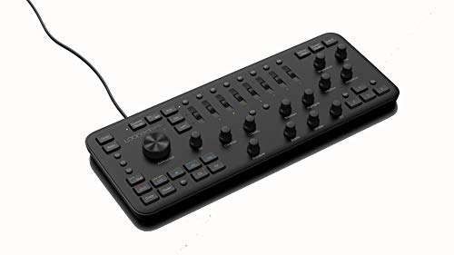 Loupedeck Plus Spezialtatstatur / Bildmischpult für Adobe Lightroom Classic, Lightroom 6, Photoshop CC, Camera Raw, Premier Pro CC, After Effects, Audition, Final Cut Pro X, Skylum Aurora HDR