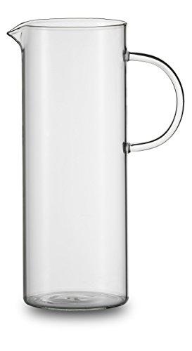 Jenaer Glas Juice Glaskurg, 1,5 L Krug, Glas, transparent, 13.8 x 13.8 x 27.5 cm 1.5 Liter Glas