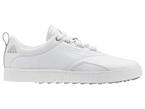 adidas Damen W Adicross Ppf Golfschuhe, Weiß (Blanco/Plata Bb8027), 41 1/3 EU