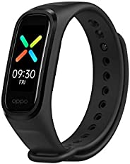OPPO Band Sport Tracker Smartwatch con Schermo AMOLED a Colori 1.1'' 5ATM Carica Magnetica, Impermeabi