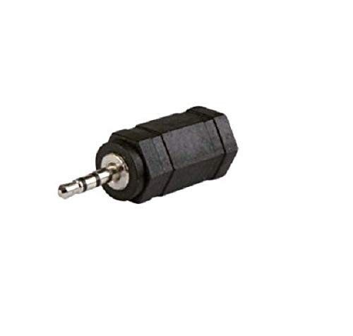Connecland - Adaptador de conector de audio jack de 3,5 mm a mini jack de 2,5 mm