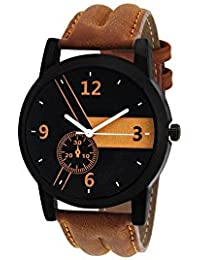 Ms Enterprise Black Dial Analog Watch For Mens And Boys - MS-M-BN-005