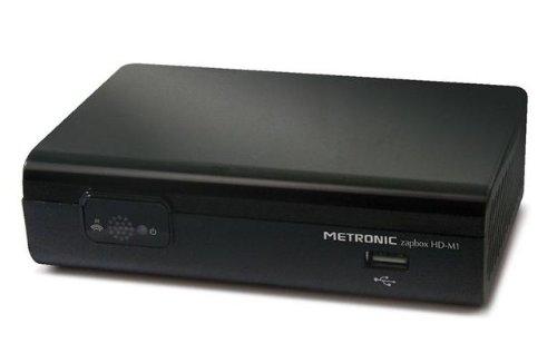Metronic 441620 Décodeur / Adaptateur TNT HD Haute-définition - Zapbox HD-M1 - Noir