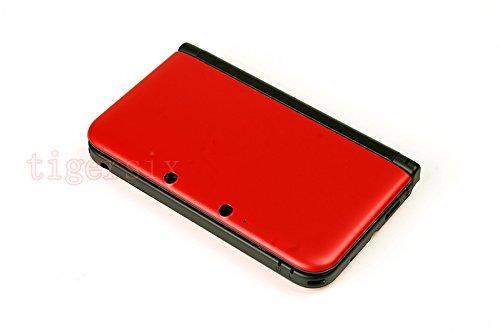 Ersatz-Gehäuse für Nintendo 3DS XL 3DSXL, Rot (Nintendo 3ds Rot Xl)