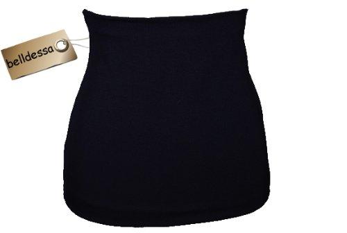 3 in 1: Jersey - Nierenwärmer / Shirt Verlängerer / modisches Accessoire - Farbe: blau dunkelblau Mann M