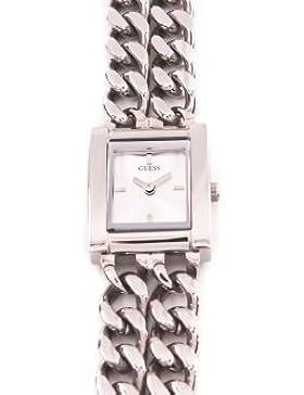 Guess Damen-Armbanduhr MINI MOD Analog Quarz Edelstahl W85080L1