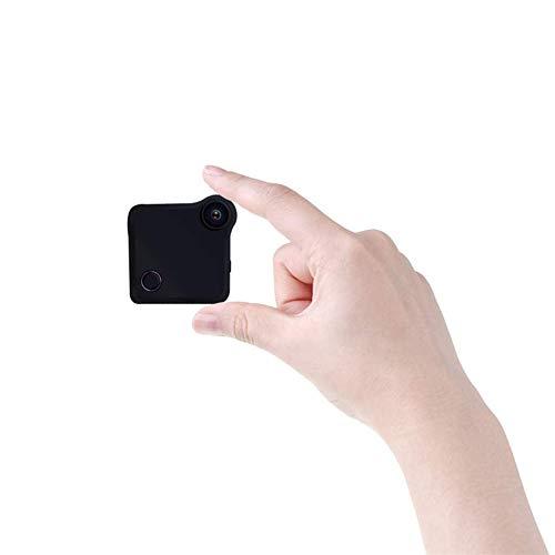 Balscw-J Cámaras de Sistema de Seguridad pequeño HD Mini Oculto cámara espía inalámbrica WiFi con detección de Movimiento y visión Nocturna