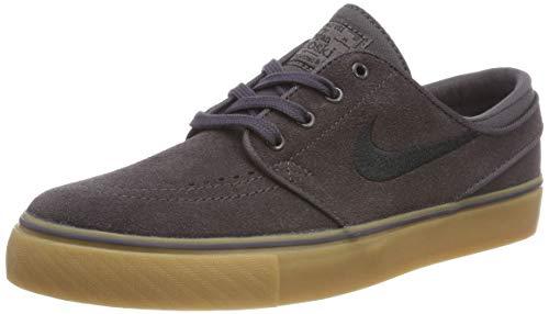 Nike Stefan Janoski GS, Zapatillas de Skateboard para Niños, Gris Thunder Grey/Black/Gum Light B...