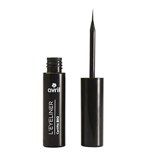 BIO-Kosmetik Make-up flüssigen Eyeliner - Schwarz - 3,5 ml
