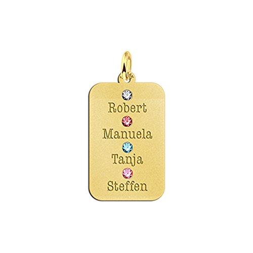 name-forever-catena-veneziana-in-oro-con-pendente-nome-rettangolare-con-4-nome-e-4-pietra-la-tua-sce