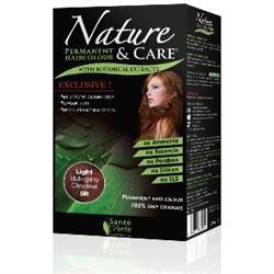 Santé verte - Nature & soin Châtain Clair Rouge 5R sans ammoniaque, sans paraben, sans silicone et sans résorcine