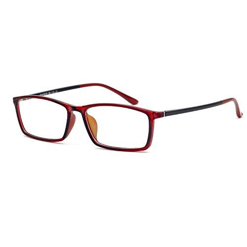 XINMADE - Monture de lunettes - Femme M bordeaux