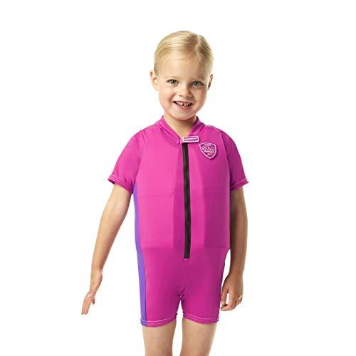 Speedo Accessoires Sea Squad Float Suit Schwimmweste, Raspberry Fill/Purple Rain, 4-5