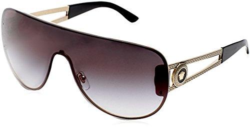Versace Damen VE2166 12528G Sonnenbrille, Pale Gold), One size (Herstellergröße: 41)