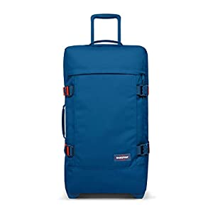 Eastpak TRANVERZ M Equipaje de Mano, 67 cm, 78 Liters, Azul (Humble Blue)