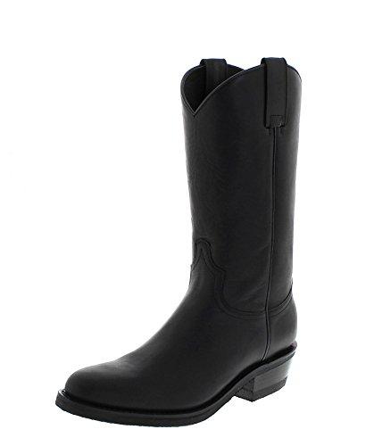 Sendra Boots Stiefel Diego 5588 Negro/Herren Cowboystiefel Schwarz/Westernstiefel/Reitstiefel, Groesse:46
