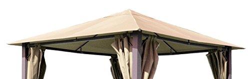 Ersatzdach zu Pavillon Paris 3x3m Sand